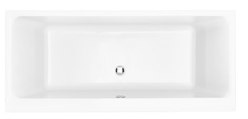 Heritage Blenheim 1800 x 800mm Acrylic Double Ended Fitted Bath