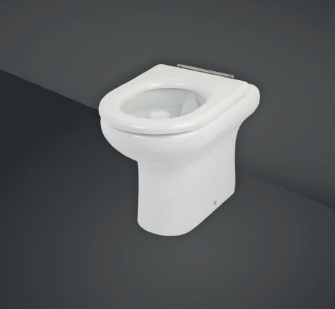 RAK Compact 42.5cm Rimless Back To Wall WC Pan