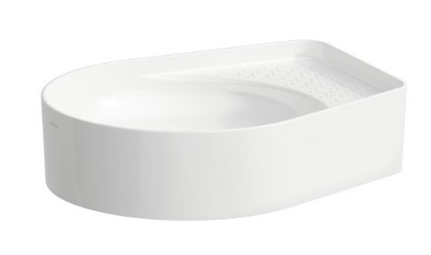 Laufen Val Bowl with Semi-wet Area