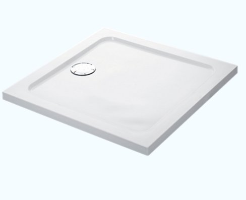Mira Flight Low 800 x 800mm Square Shower Tray