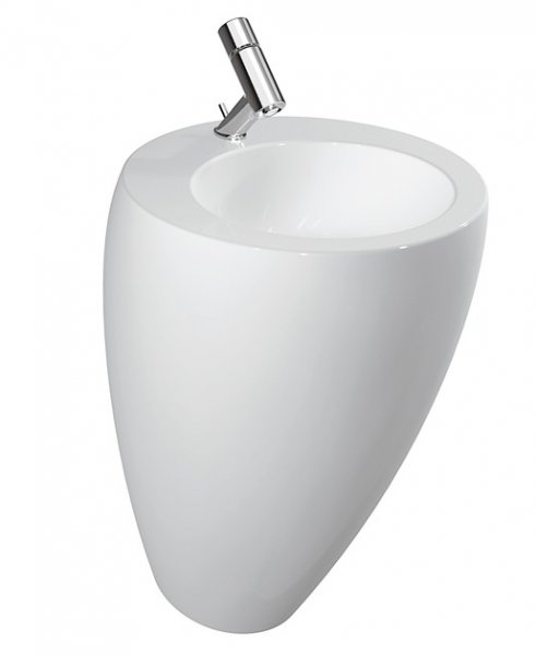 Laufen Alessi One Basin with Integrated Pedestal