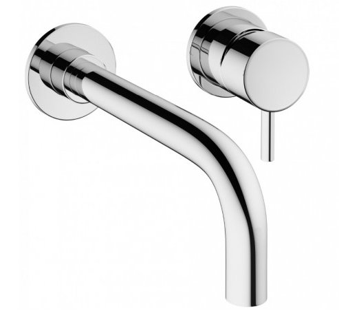 Crosswater Mike Pro Wall Mounted Basin Mixer Taps