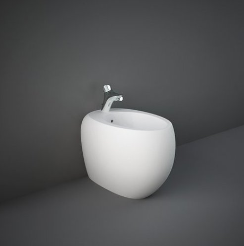 RAK-Cloud Matt White Back To Wall Bidet