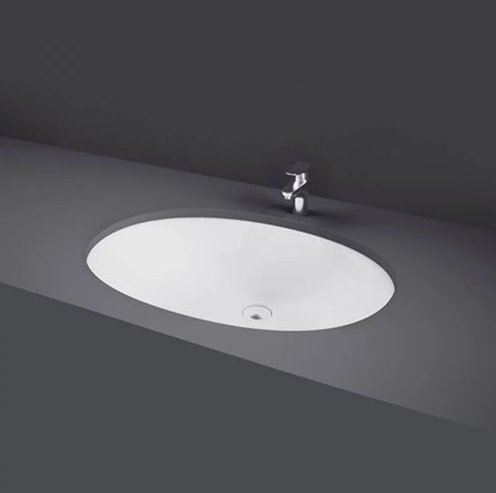 RAK Under Counter Basins 50cm Rosa Under Counter Wash Basin