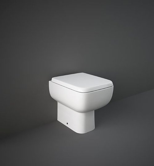 RAK Series 600 Back To Wall Pan With Sandwich Over Soft Close Seat