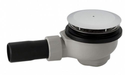Geberit Domed Shower Waste including Trap, 50mm Diameter (Stock Clearance)