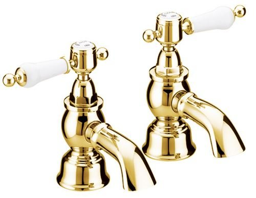 Heritage Glastonbury Bath Pillar Taps