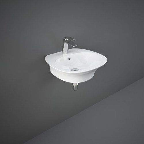 RAK Sensation 50cm 1 Tap Hole Wall Hung Basin