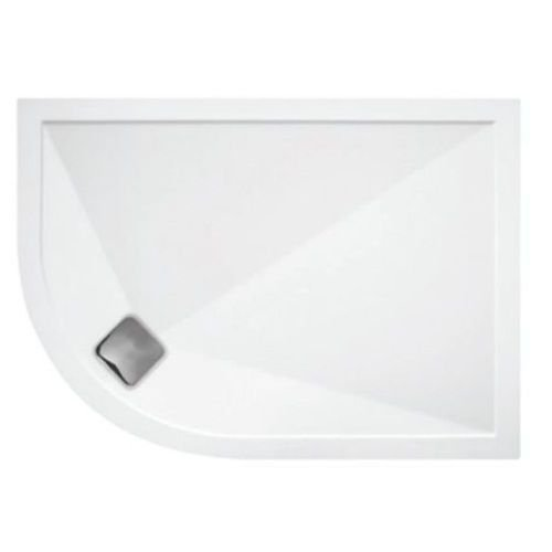 TrayMate Symmetry Offset Quadrant Shower Tray 1200 X 800mm Right Handed