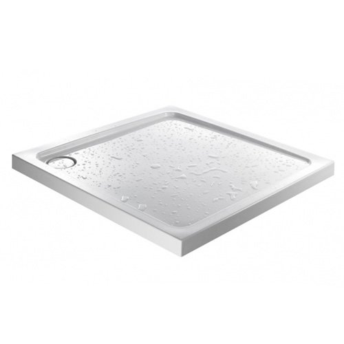 JT Fusion 800 x 800mm Square Shower Tray with Concealed Waste