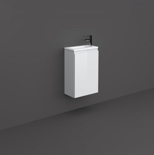 RAK Joy 40cm Pure White Wall Hung Basin Unit