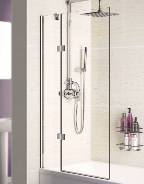 Lakes 8mm Hinged Bath Screen Bathroom Supplies Online