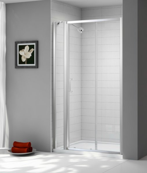 Merlyn Ionic Express Sliding Door and Inline Panel