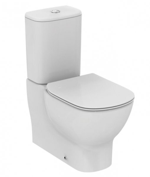 Sottini Mavone Close Coupled Back to Wall WC with Aquablade Technology