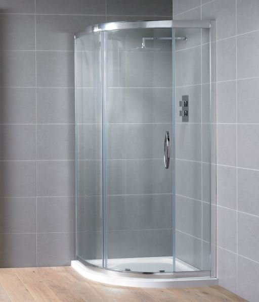 Aquadart Venturi 8 800 x 800mm Single Door Quadrant