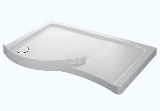 Mira Flight 1400 x 800mm Walk-in Shower Tray