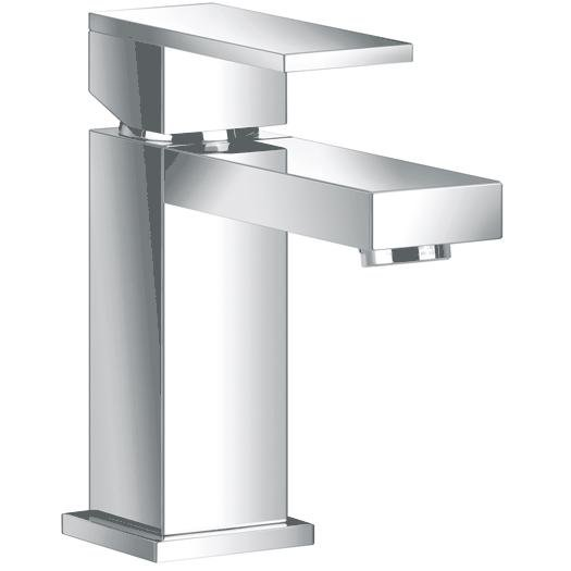 Just Taps Plus Athena Basin Mixer Tap without Pop-Up Waste Single Lever Handle - Chrome