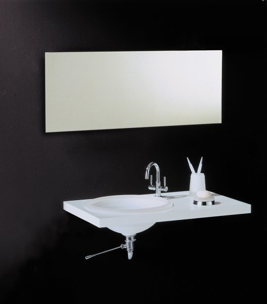 Bathroom Origins Slim Rectangular 50 Mirror