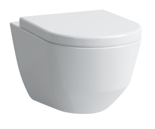 Laufen Pro Compact Rimless Wall Hung WC