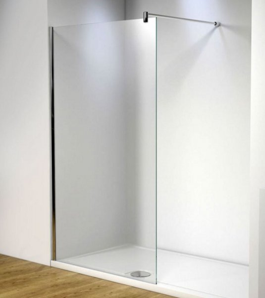 Kudos Ultimate 2 700mm Wetroom Panel (10mm Glass Chrome)