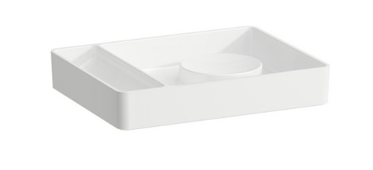 Laufen Val Rectangular Accessory Tray