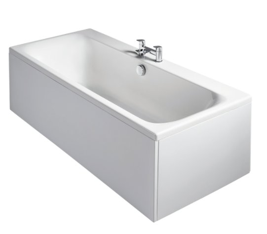 Sottini Turano Idealform 170 x 75cm Double Ended Rectangular Bath