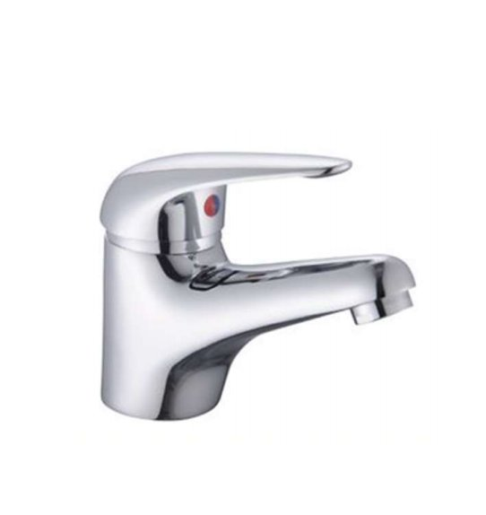 RAK Basic Mono Basin Mixer Tap With Clicker Waste