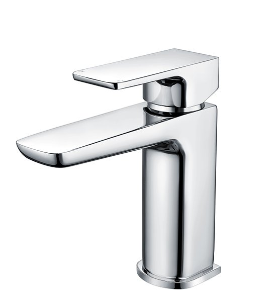 RAK Moon Chrome Mono Basin Mixer With Clicker Waste
