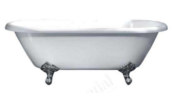 Essential Traditional Roll Top 1700 x 800mm Bath