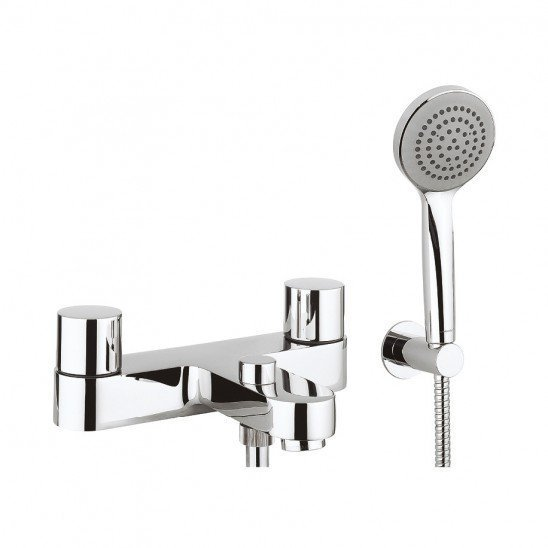Crosswater Central Bath Shower Mixer with Kit (Stock Clearance)