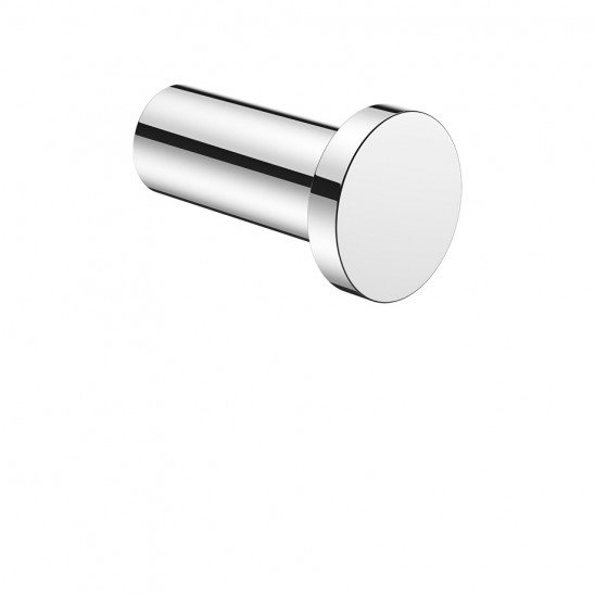 Crosswater Mike Pro Brushed Stainless Steel Effect Robe Hook