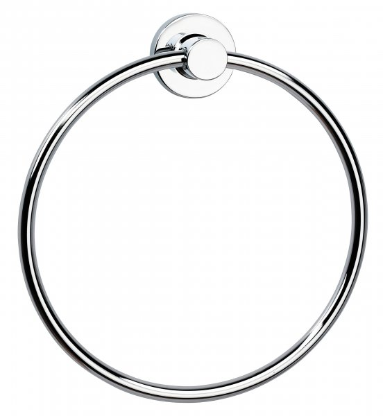 Bathroom Origins Tecno project Towel Ring Large - Chrome