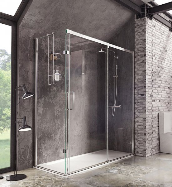 Roman Decem X 1200 X 900mm Sliding Door With Square