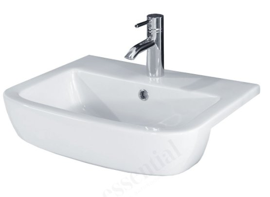 Essential Orchid 52cm Semi Countertop Basin