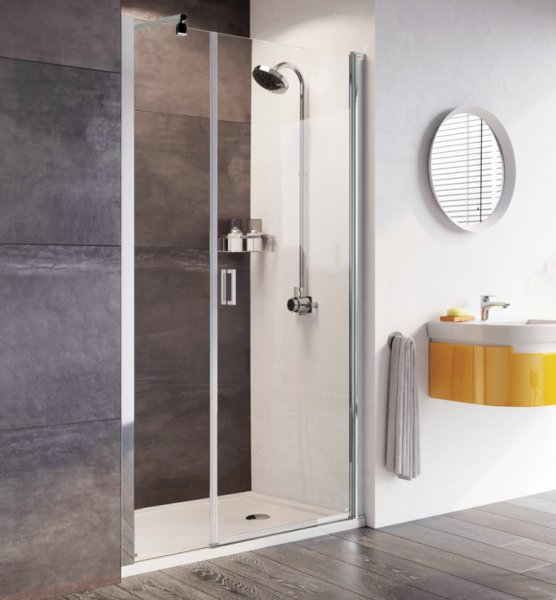 Roman Innov8 1500mm Pivot Door with In-line Panel