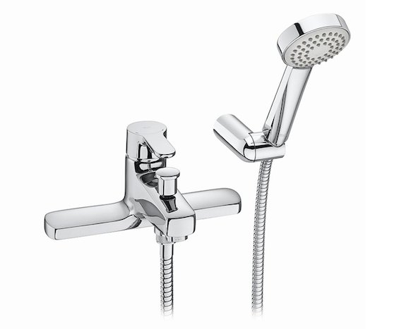 Roca L20 Deck-Mounted Bath Shower Mixer