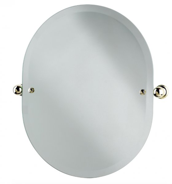 Perrin & Rowe Traditional 625 x 500mm Oval Mirror (6982)