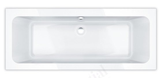 Essential Islington 1700 x 750mm Double Ended Bath