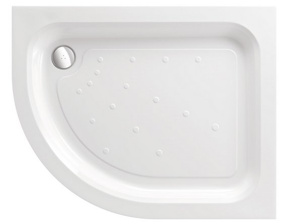 JT Merlin 1200 x 900mm Offset Quadrant Shower Tray