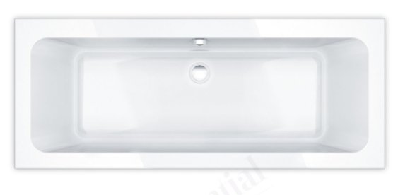 Essential Islington 1700 x 700mm Double Ended Bath