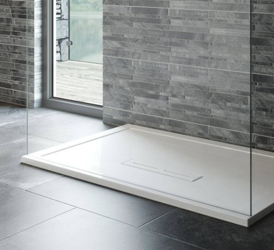 Kudos Connect 2 1000 x 900mm Rectangle Anti-Slip Shower Tray