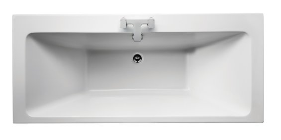 Sottini Lato 180 x 80cm Idealform Double Ended Rectangular Bath