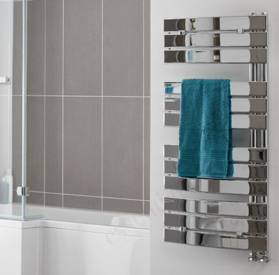 Essential Aries Chrome 1080 x 550mm Deluxe Towel Warmer
