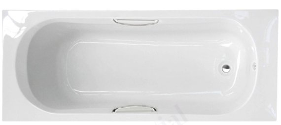 Essential Ocean 1700 x 700mm Rectangular Single Ended Bath