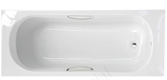 Essential Ocean 1500 x 700mm Rectangular Single Ended Bath