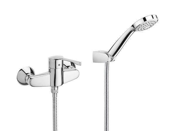 Roca Victoria Pro Wall Mounted Shower Mixer