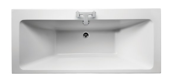 Sottini Lato 170 x 75cm Idealform Plus+ Double Ended Rectangular Bath