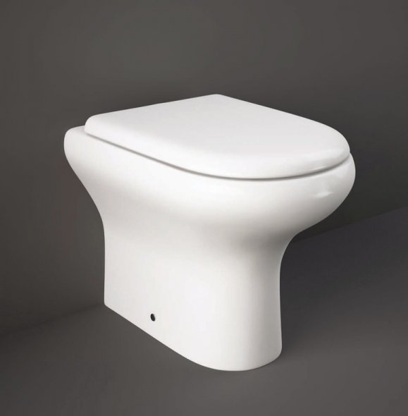 RAK Compact Back To Wall Pan With Soft Close Seat