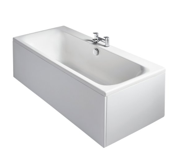 Sottini Turano IdealformPlus+ 170x75cm Double Ended Bath with Filler Waste