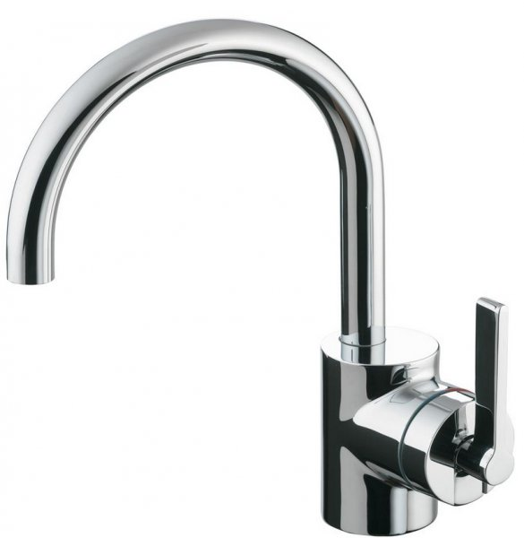 Ideal Standard Silver Single Lever Basin Mixer